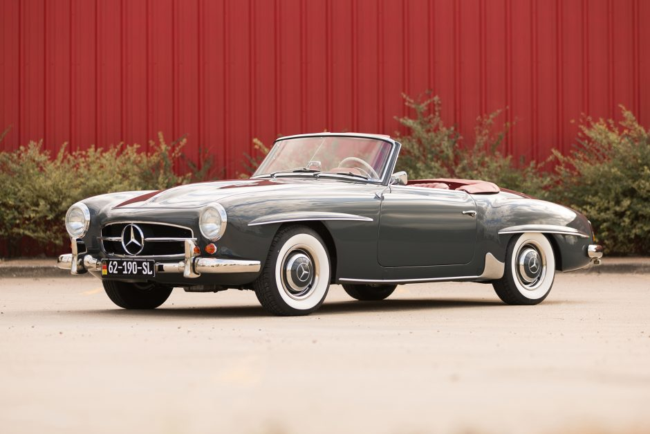 Restored 1962 Mercedes Benz 190sl The Bid Watcher