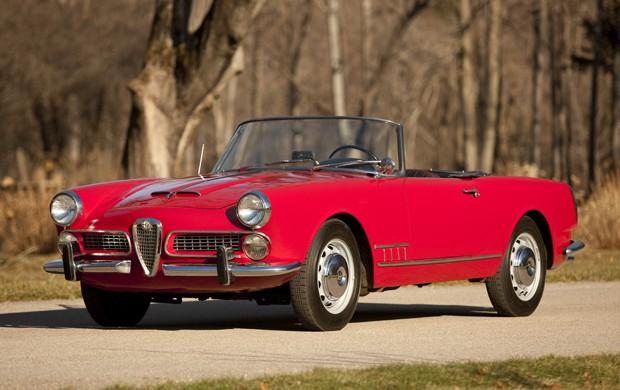 1960 alfa romeo 2000 touring spider - the bid watcher