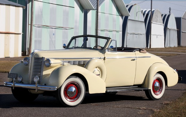 1938 Buick Special Series 46c Convertible Coupe