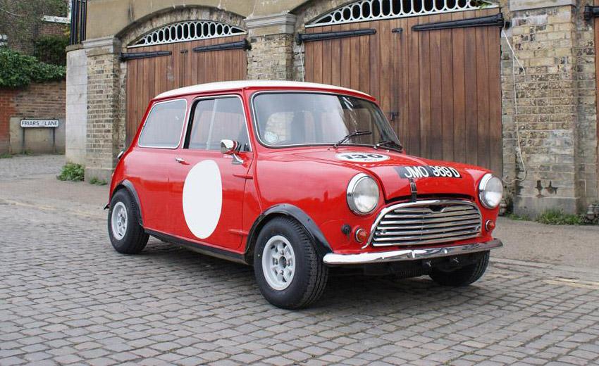 1966 Mini Cooper S Bmc Compeion Department