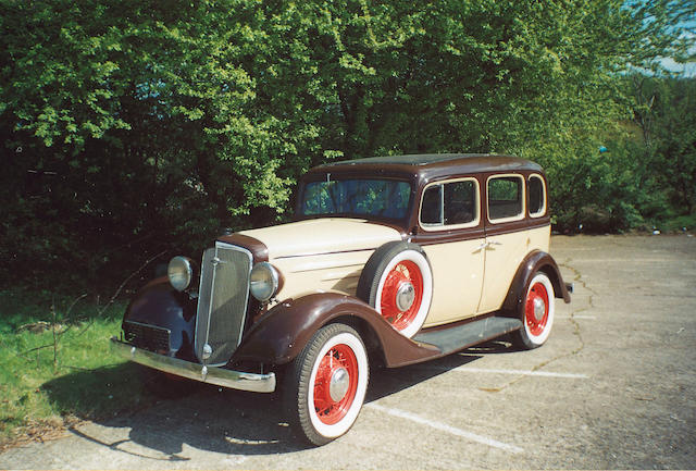 1934 Chevrolet Master Six Saloon - The Bid Watcher