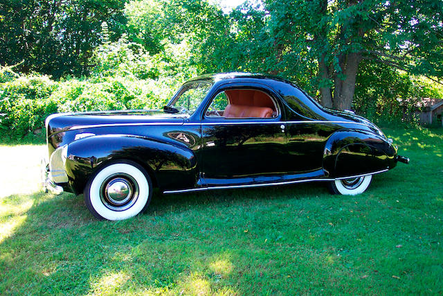 1941 Lincoln Zephyr 3 Passenger Coupe The Bid Watcher