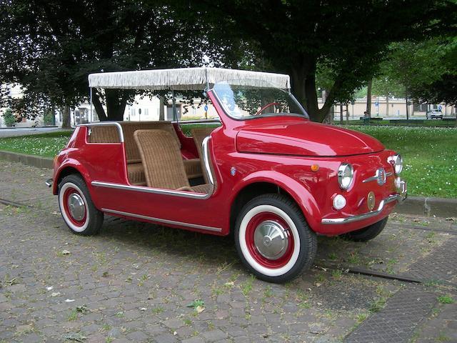 1970 Fiat 500 Jolly Beach Car Replica The Bid Watcher