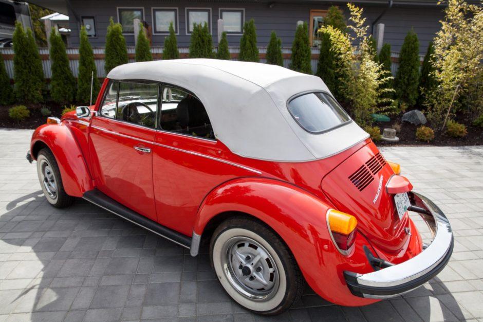 38k Mile 1979 Volkswagen Beetle Convertible