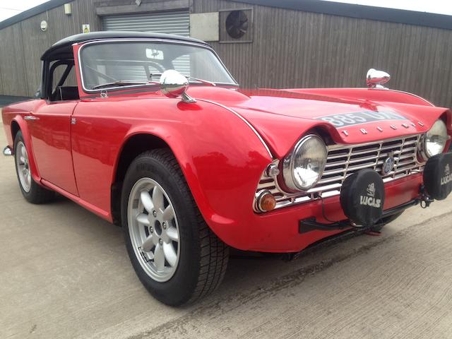 1962 Triumph Tr4 Rally Car The Bid Watcher