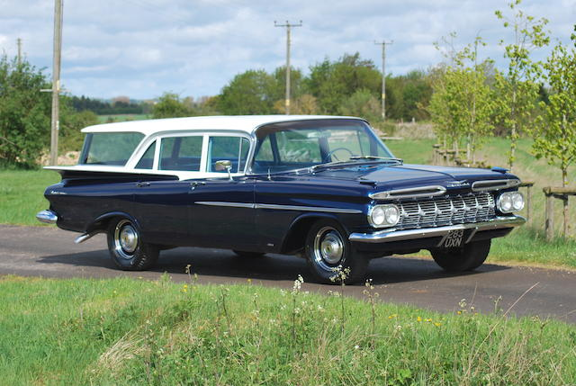 1959 Chevrolet Brookwood Station Wagon The Bid Watcher