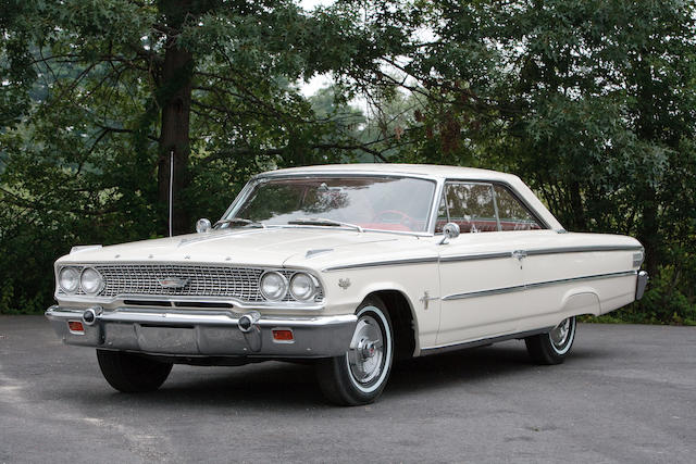 1963 Ford Galaxie 500 Fastback Coupe Q-code 427 Engine 4-speed