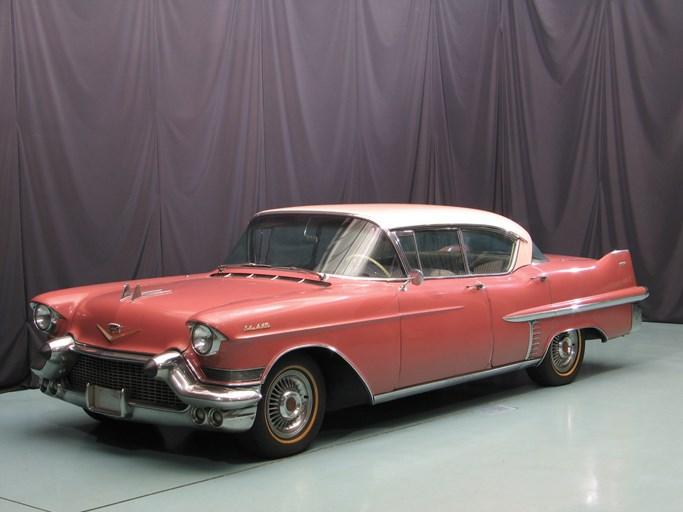 1957 cadillac sedan deville four door hardtop - the bid watcher