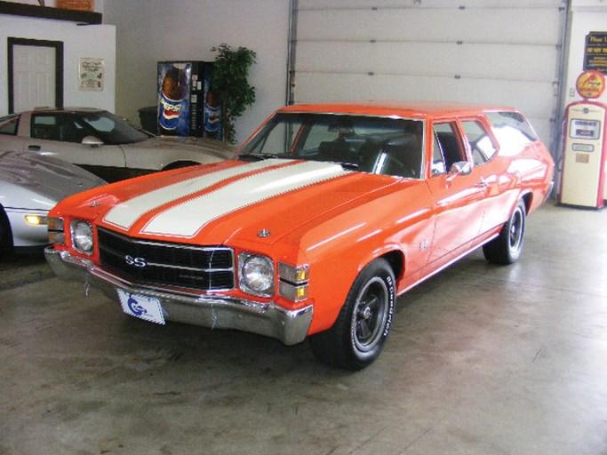 1971 Chevrolet Malibu Ss Clone Wagon - The Bid Watcher