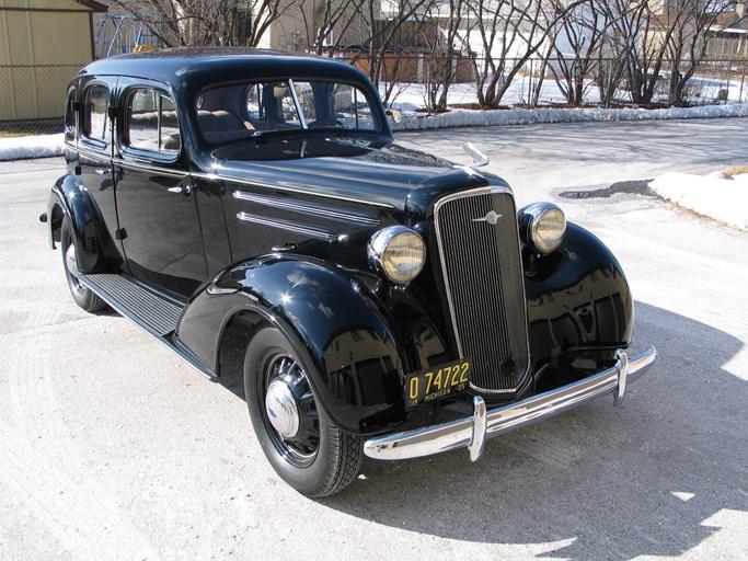 1935 Chevrolet Master Deluxe Four Door Sedan Sport Touring