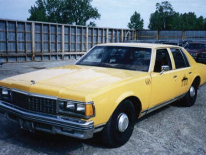 1978 Chevrolet Impala Taxi The Bid Watcher