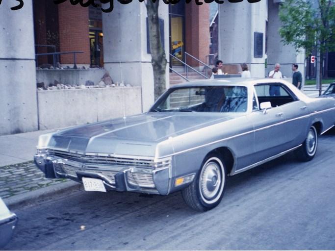 1973 Dodge Monaco Four Door Hardtop - The Bid Watcher