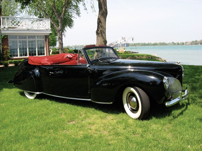 1940 Lincoln Continental Convertible