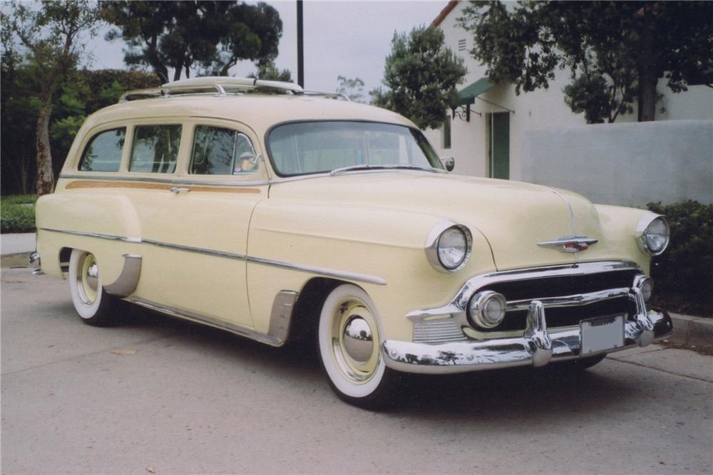 1953 Chevrolet Custom Station Wagon The Bid Watcher