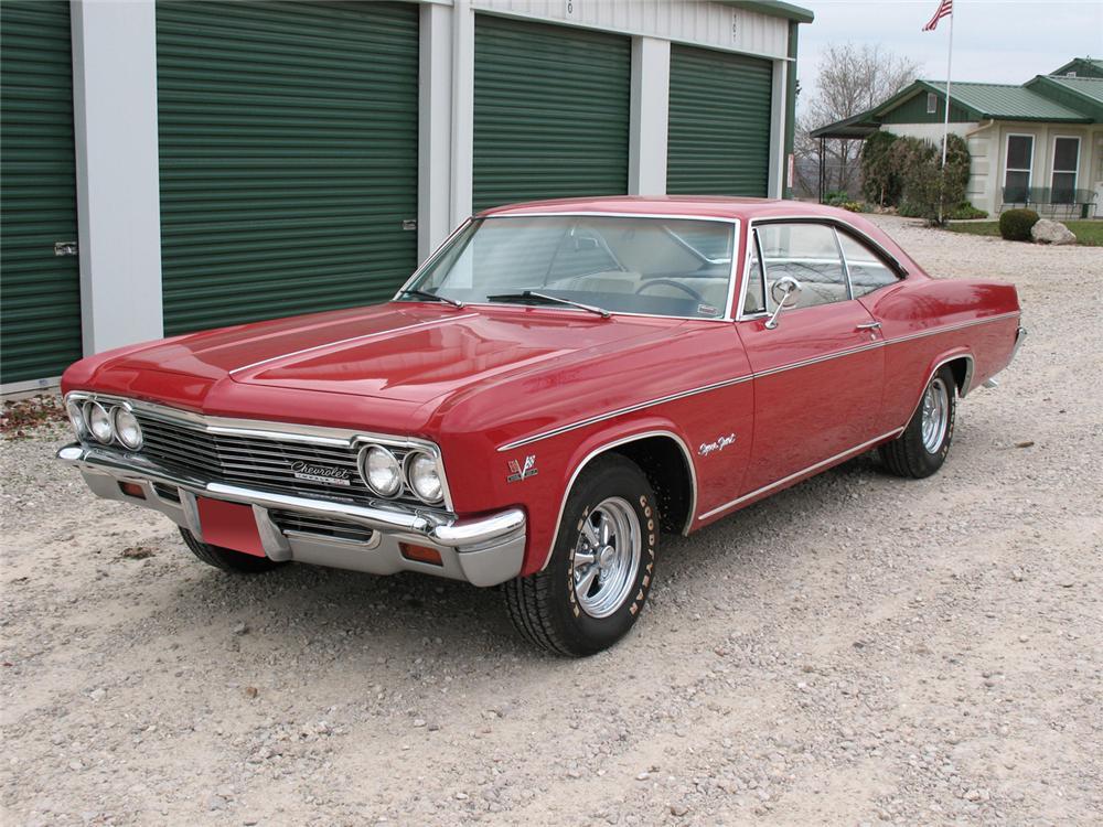1966 Chevrolet Impala Ss 2 Door Hardtop - The Bid Watcher