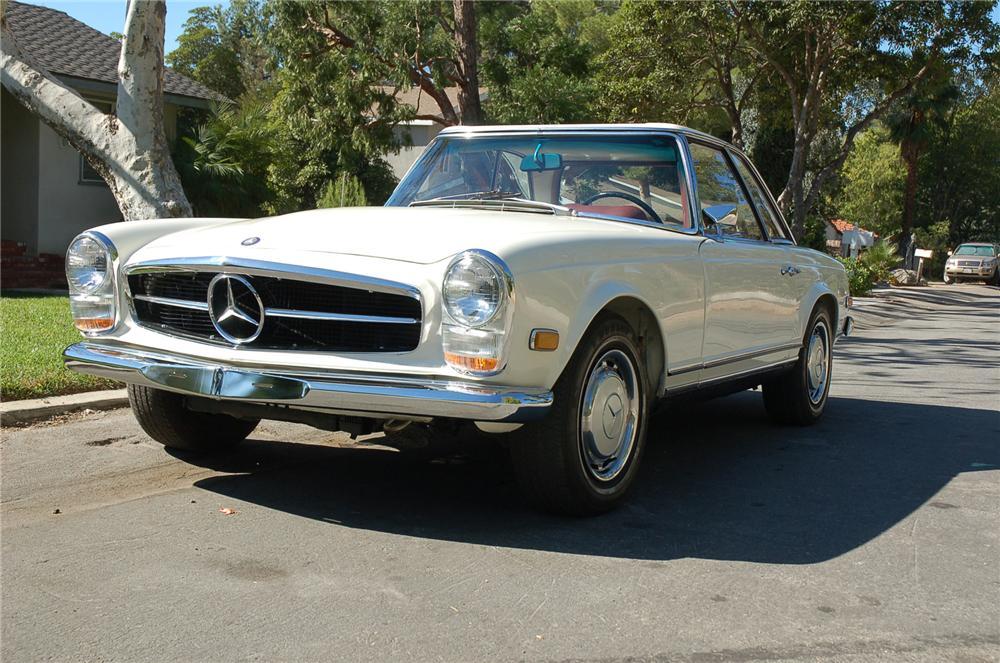 1968 Mercedes Benz 280sl Convertible