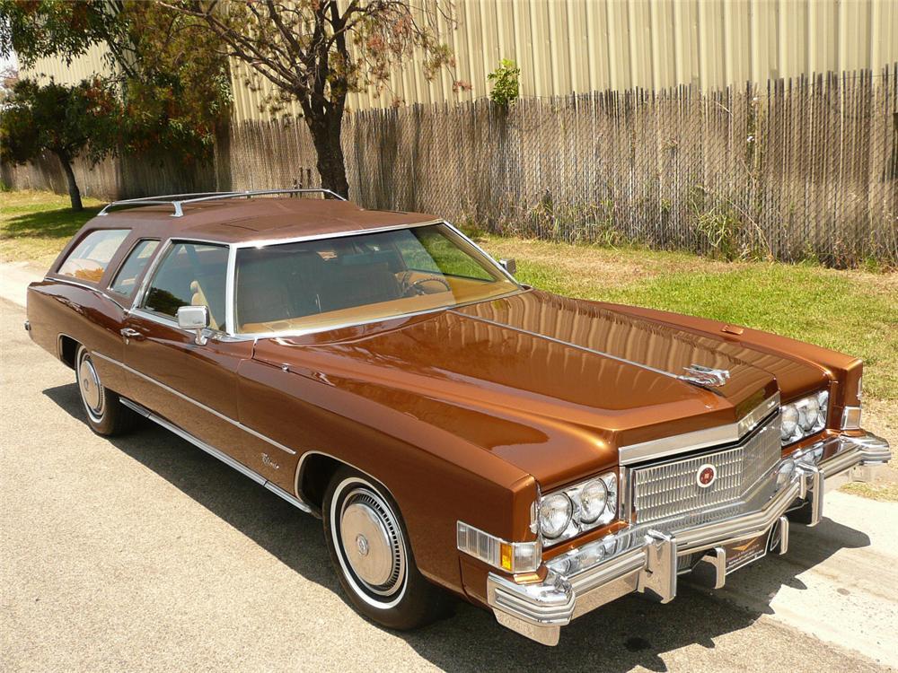 1974 Cadillac Eldorado Caballero Wagon - The Bid Watcher