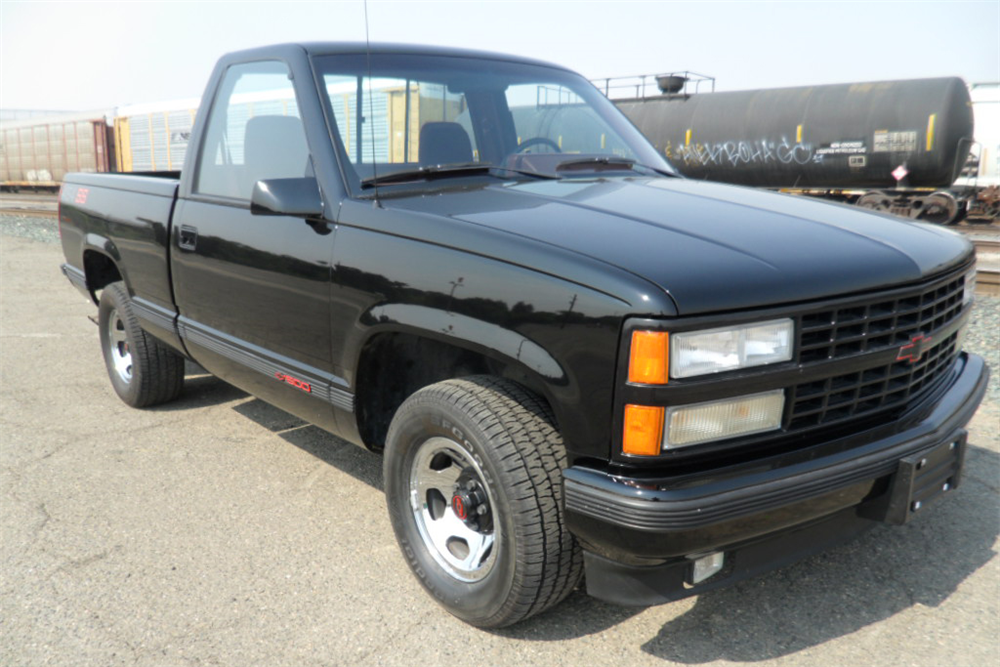 1990 Chevrolet 454 Ss Pickup - The Bid Watcher