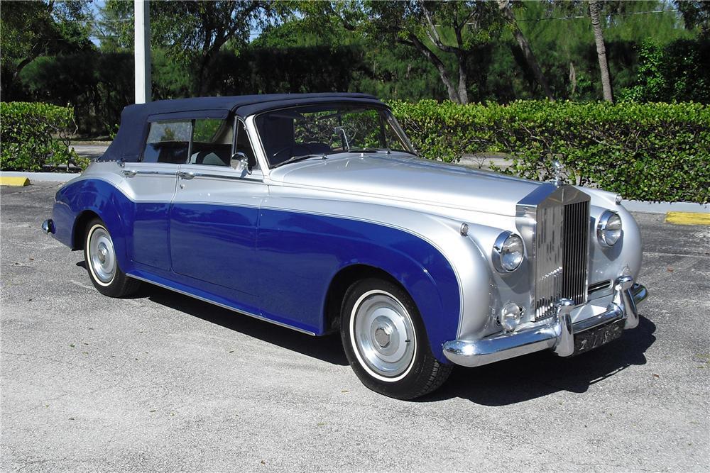 1962 Rolls Royce 4 Door Custom Convertible
