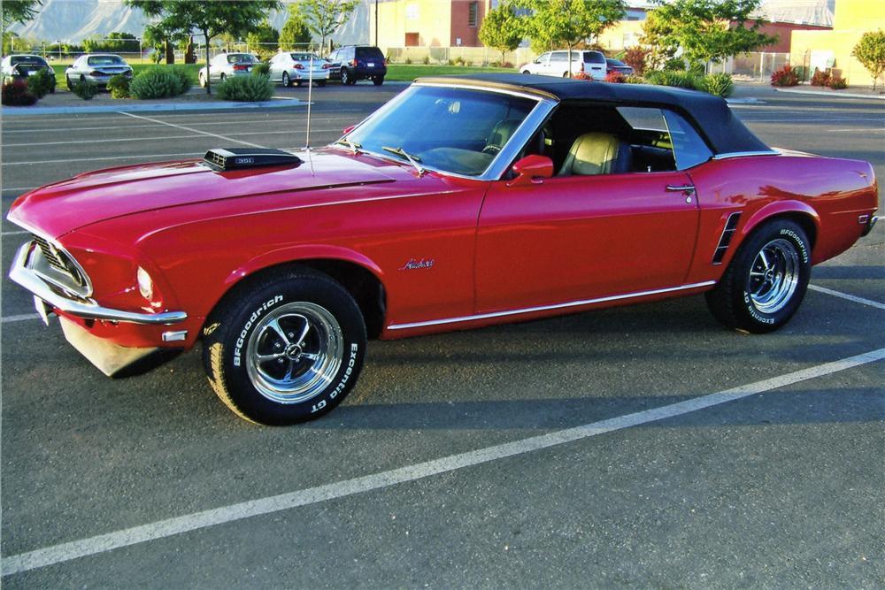 1969 Ford Mustang Custom Convertible