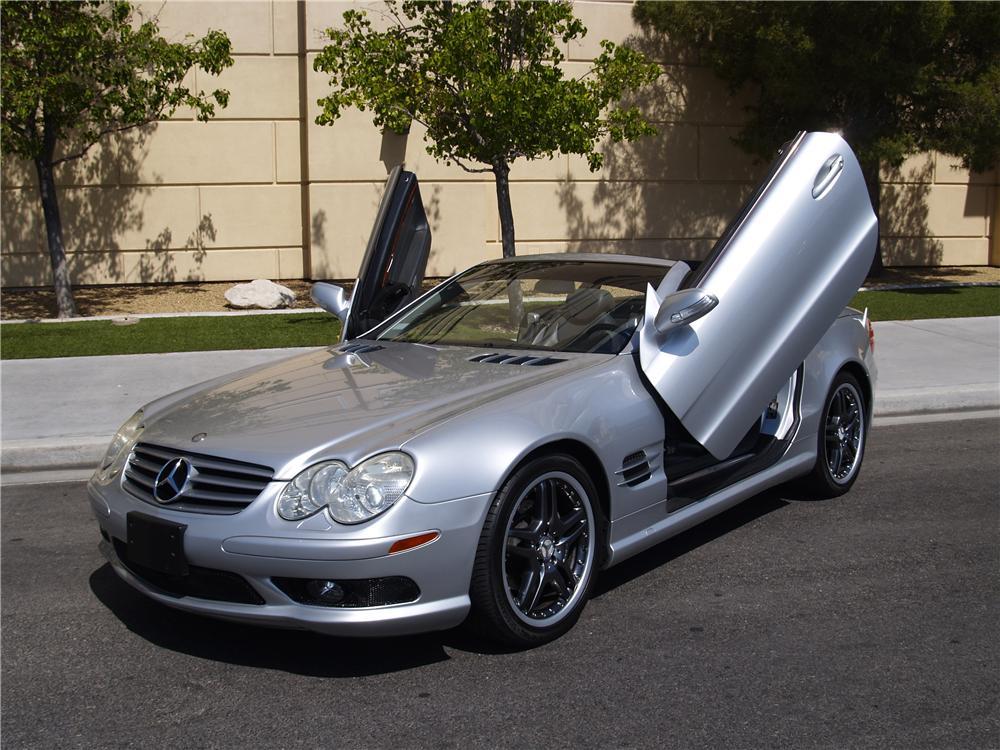 2005 Mercedes Benz Sl500 Convertible