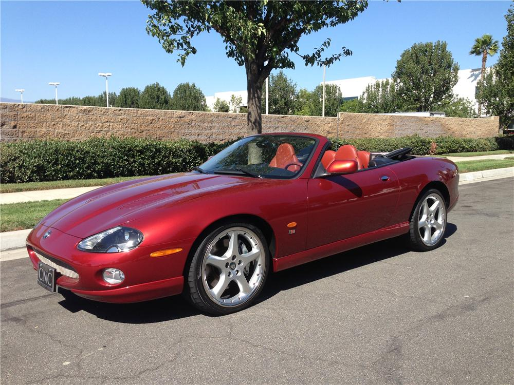 2004 Jaguar Xkr Convertible