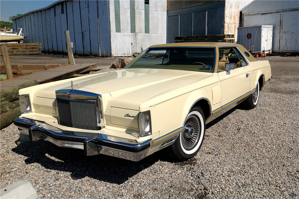 1977 Lincoln Continental Mark V - The Bid Watcher