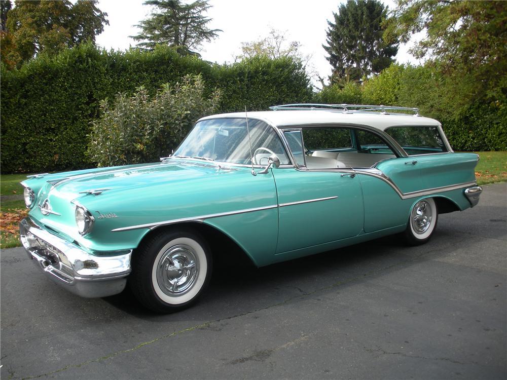 1957 Oldsmobile Super 88 Fiesta Wagon - The Bid Watcher