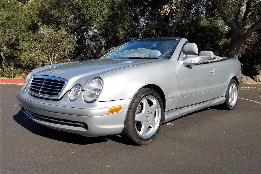 2001 Mercedes Benz Clk430 Convertible