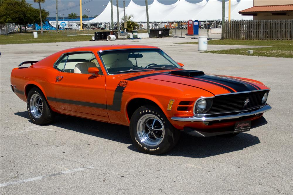 1970 Ford Mustang Boss 302 Fastback The Bid Watcher