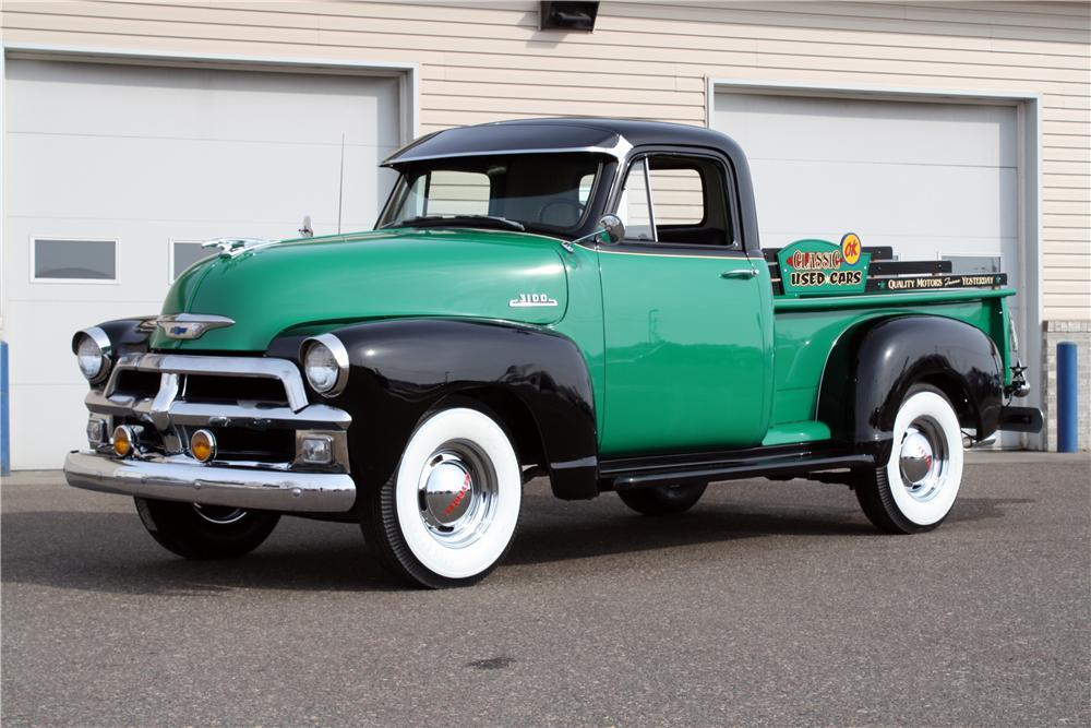 1954 Chevrolet 3100 Pickup - The Bid Watcher on