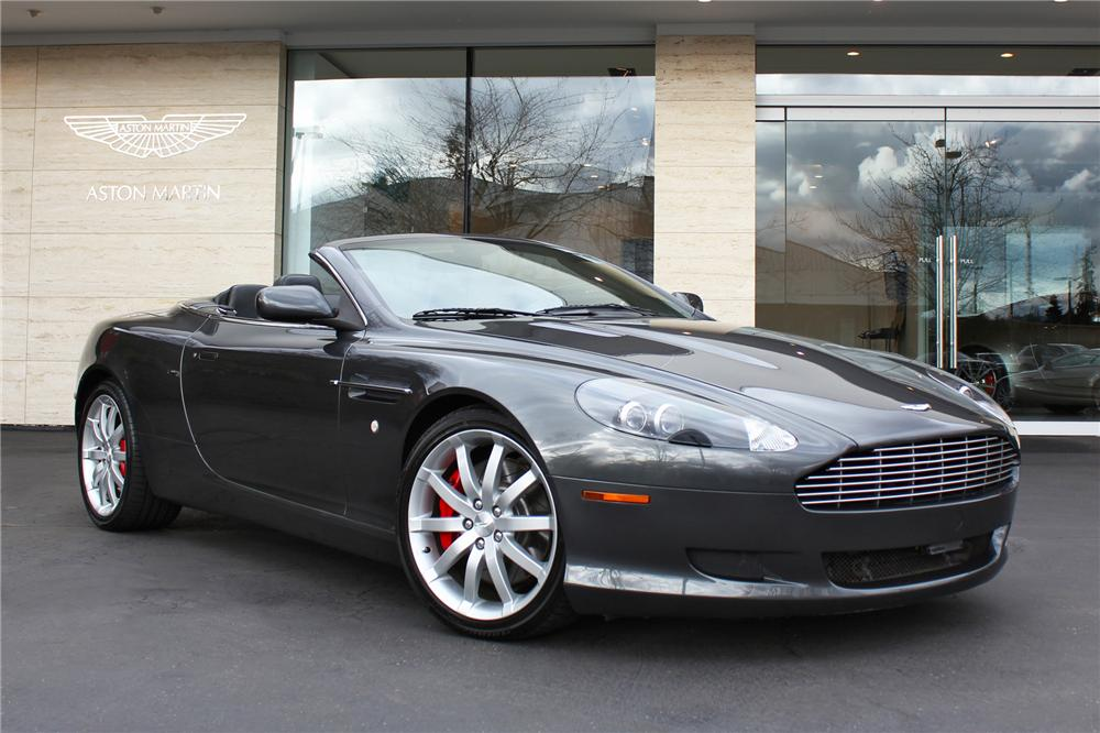 Aston Martin Db Volante Convertible The Bid Watcher - 2006 aston martin