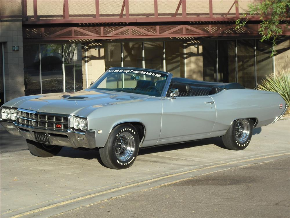 1969 Buick Gran Sport Convertible - The Bid Watcher