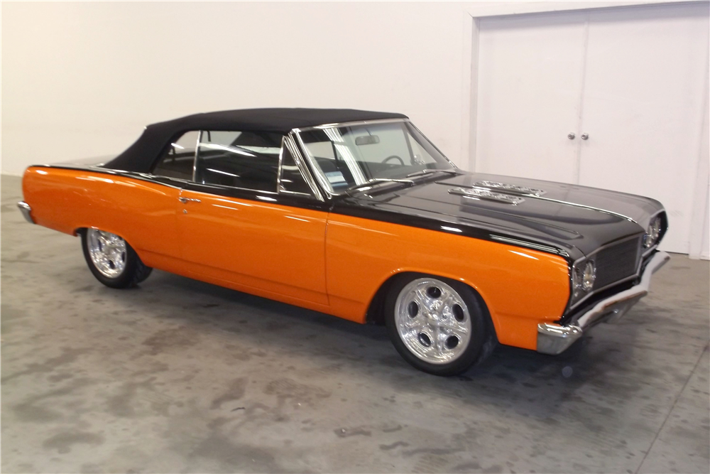 1965 Chevrolet Malibu Ss Custom Convertible - The Bid Watcher