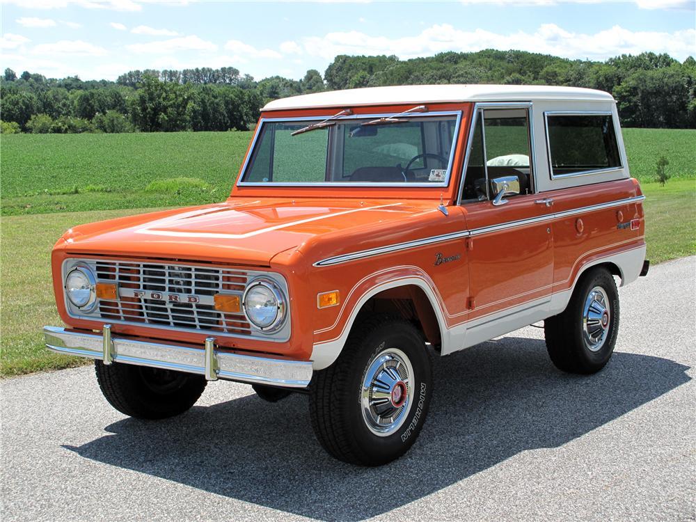 1974 Ford Bronco Suv The Bid Watcherrhthebidwatcher: 74 Ford Bronco Wiring Diagrams At Gmaili.net