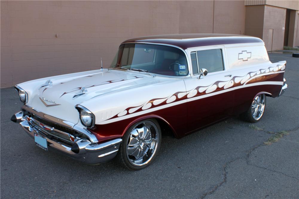 1957 Chevrolet Sedan Delivery Custom 2 Door - The Bid Watcher