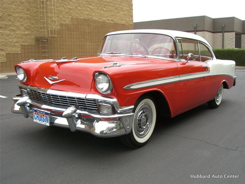 1956 Chevrolet Bel Air 2 Door Hardtop The Bid Watcher