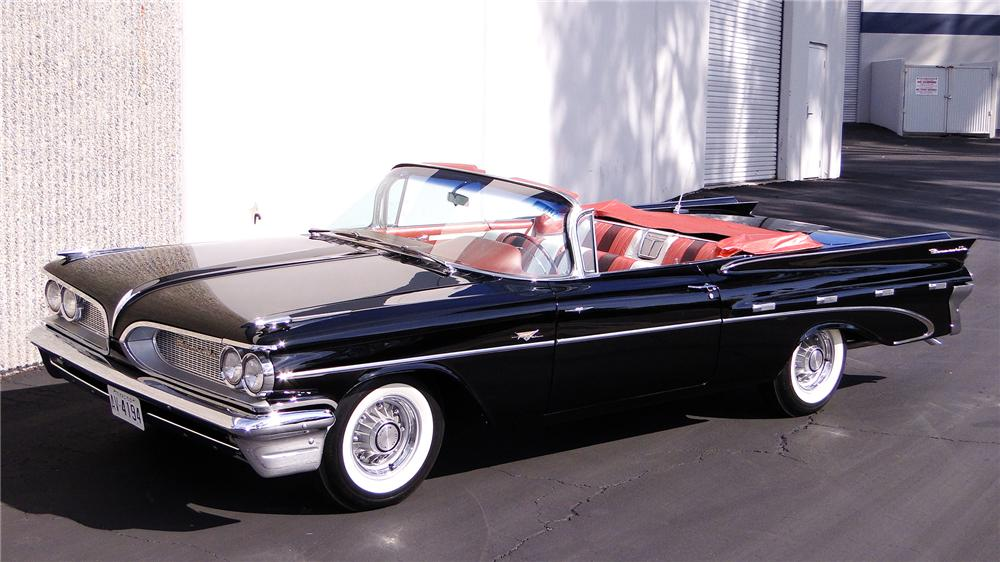 1959 pontiac bonneville tri power convertible the bid watcher1959 pontiac bonneville tri power convertible