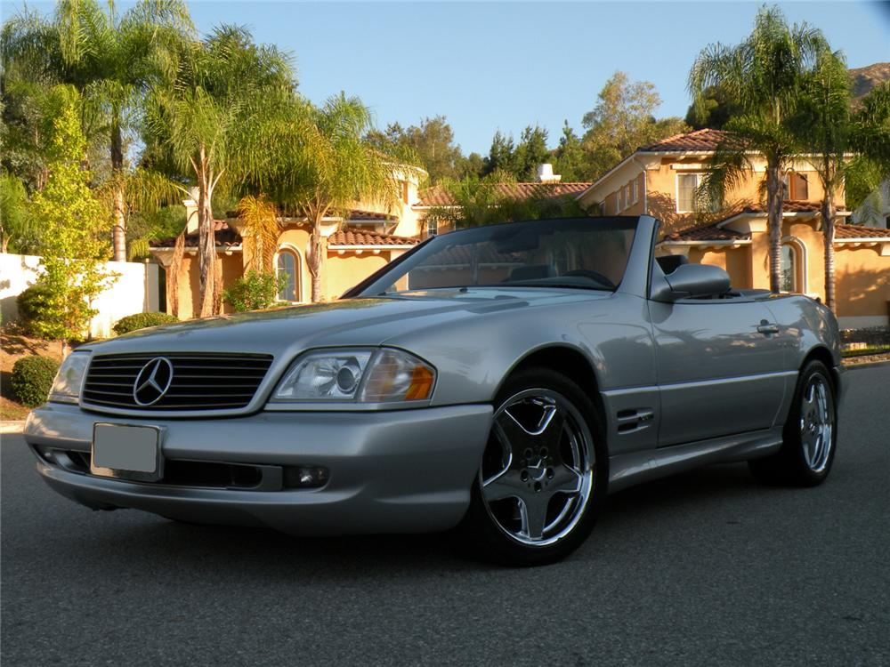 2000 Mercedes Benz Sl500 Convertible