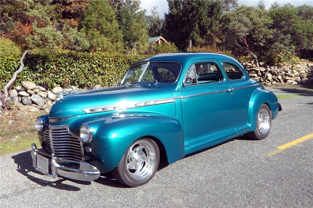 1941 Chevrolet Custom 2 Door Coupe - The Bid Watcher