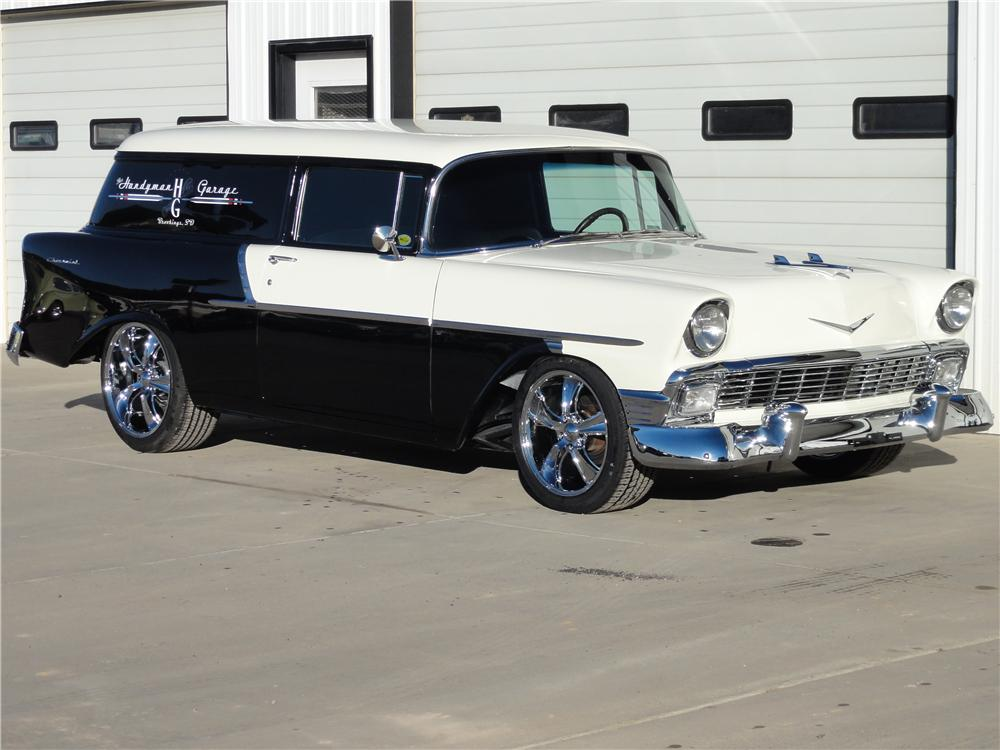 1956 Chevrolet Custom Sedan Delivery - The Bid Watcher