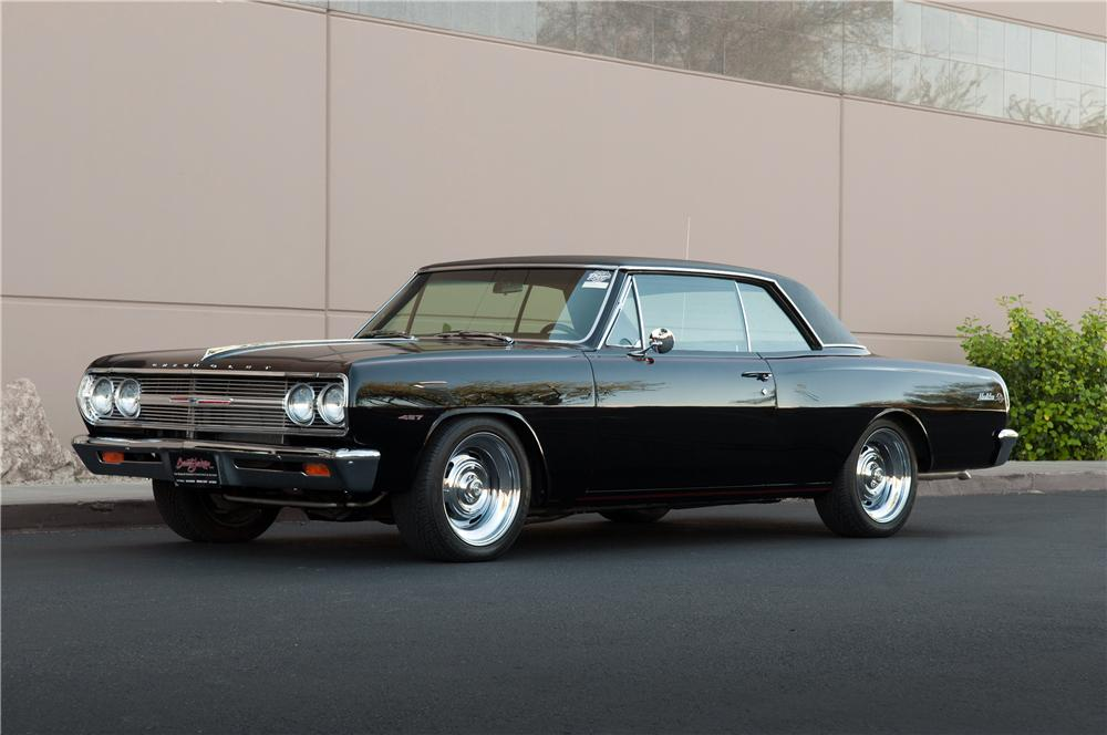 1965 Chevrolet Chevelle Malibu Ss Custom 2 Door Coupe - The Bid Watcher