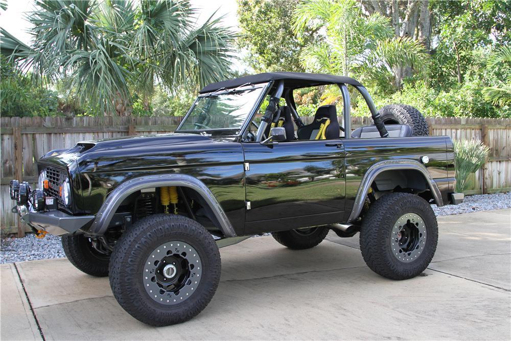 1969 Ford Bronco Custom Suv On Sunday 03 00 Pm The Bid Watcher