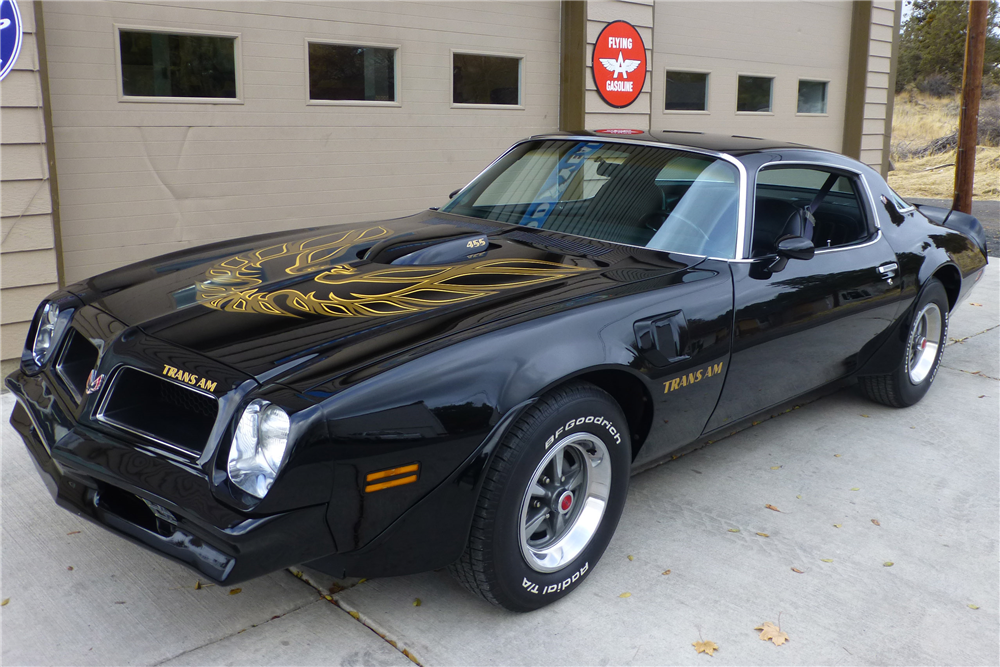 1976 Pontiac Firebird Trans Am The Bid Watcher