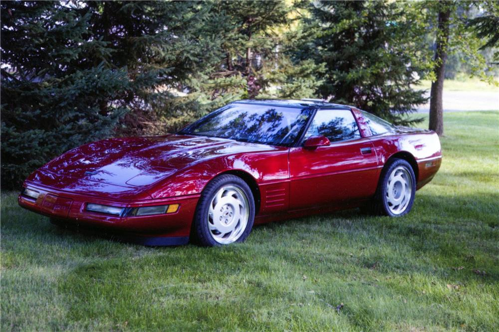 1991 Chevrolet Corvette Zr1 - The Bid Watcher