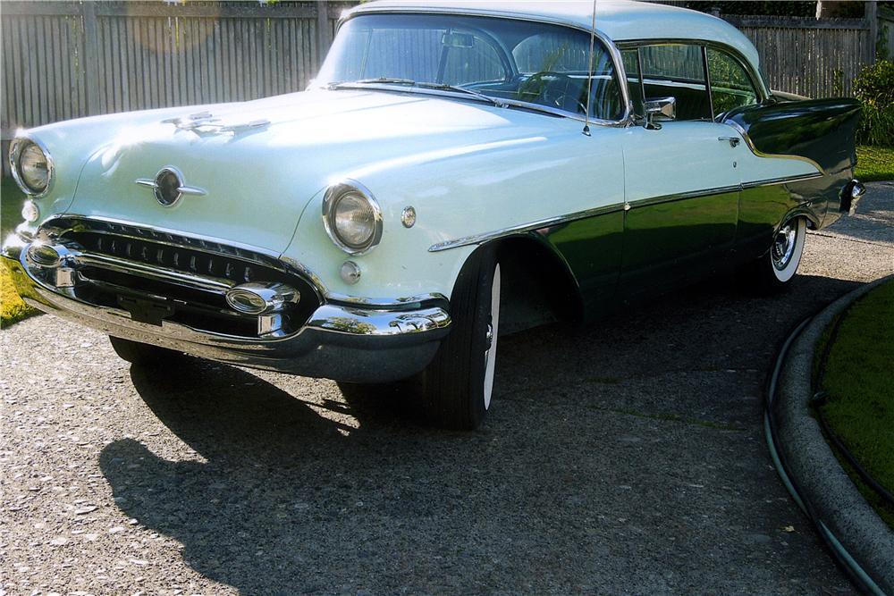 1955 Oldsmobile Super 88 2 Door Hardtop - The Bid Watcher