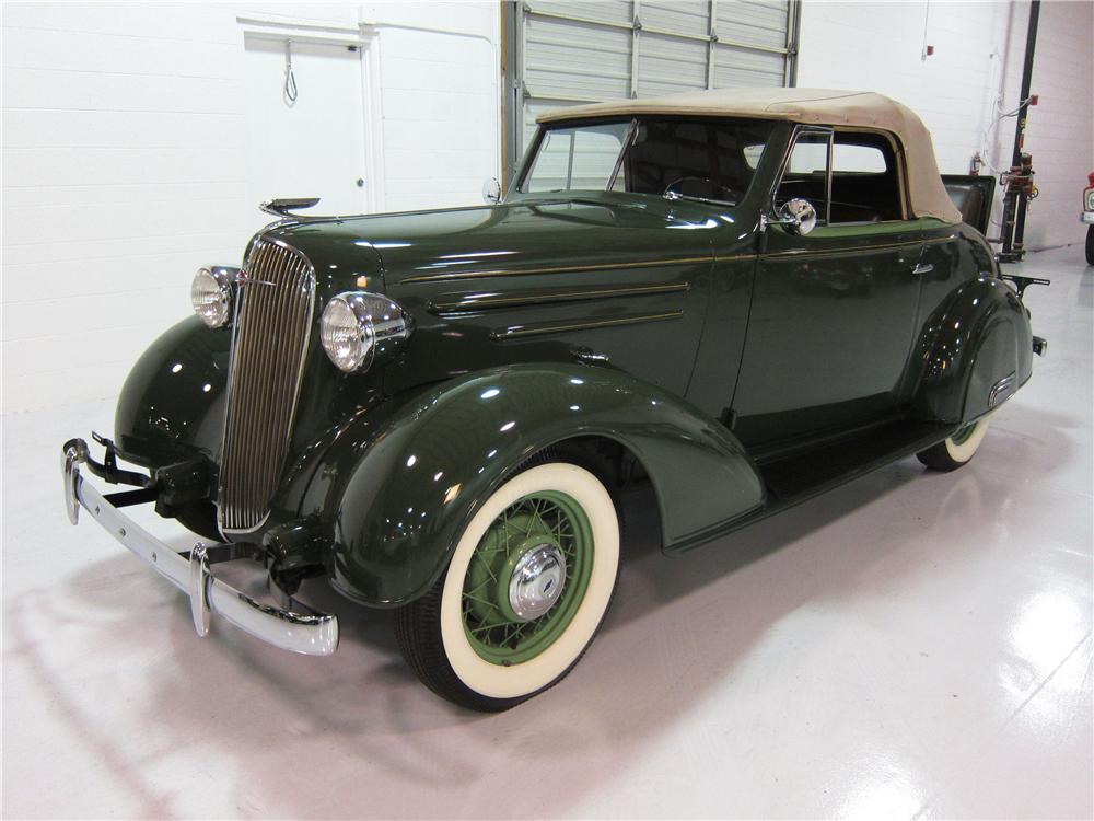 1936 Chevrolet Convertible - The Bid Watcher