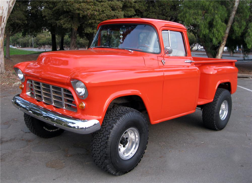 1956 Chevrolet 3100 Custom Pickup - The Bid Watcher
