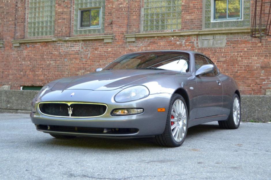 27K Mile 2002 Maserati Coupe
