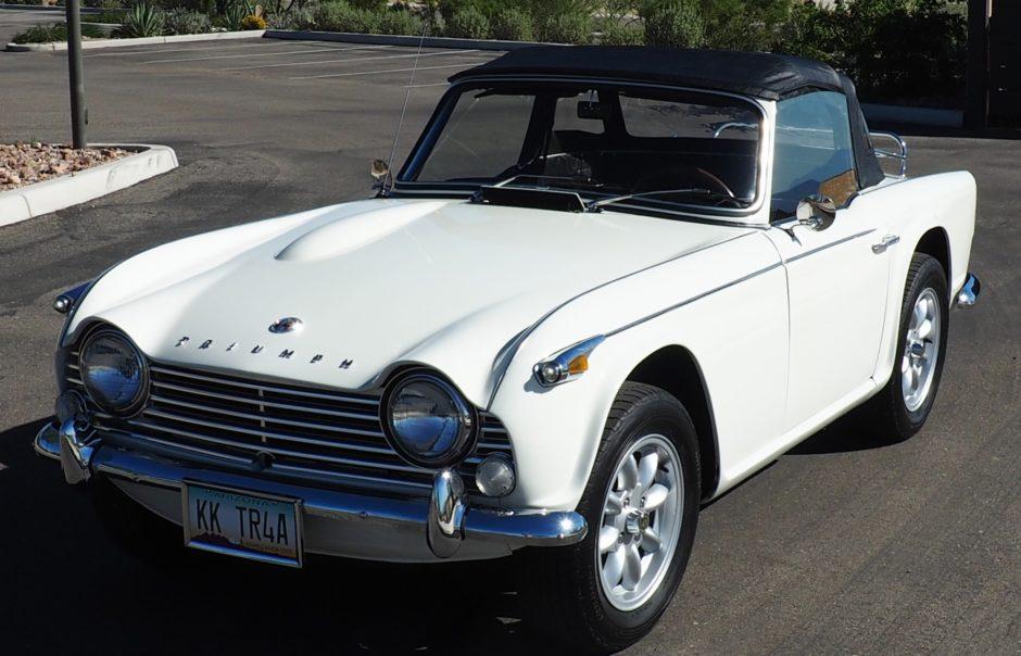 1966 Triumph Tr4a Irs - The Bid Watcher